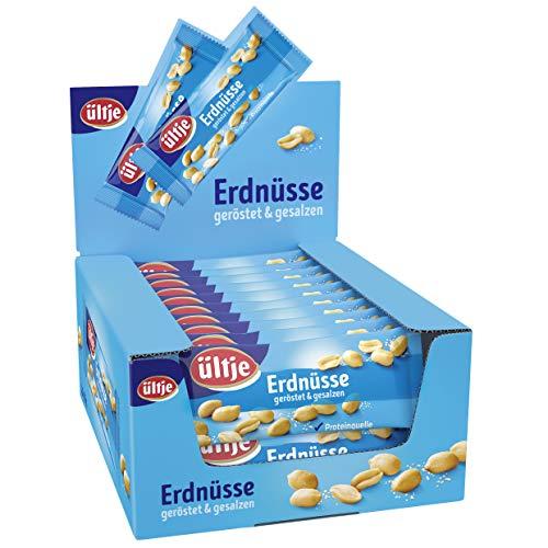 Erdnüsse Riegelbeutel, geröstet & gesalzen 20x...