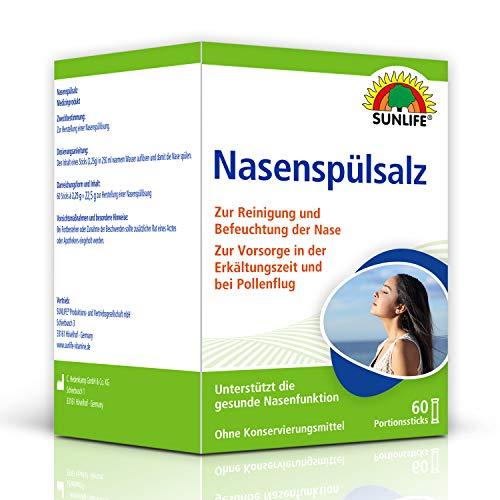 SUNLIFE Nasenspülsalz: Nasenspülung zur...