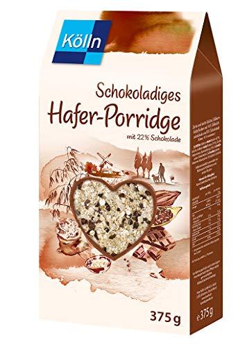 Kölln Schokoladiges Hafer-Porridge, 6er Pack (6 x...