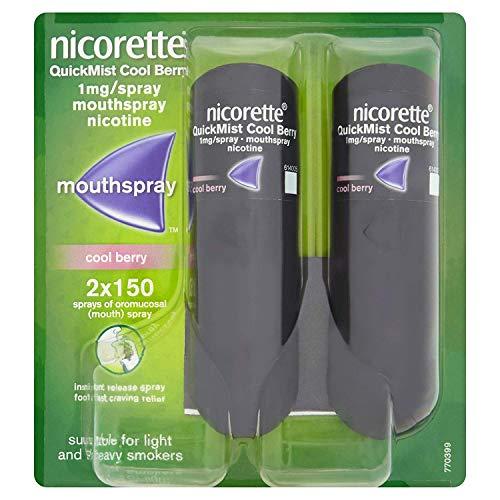 Nicorette Fruit & Mint Spray 2 x 13,2 ml mit 2 x 1...