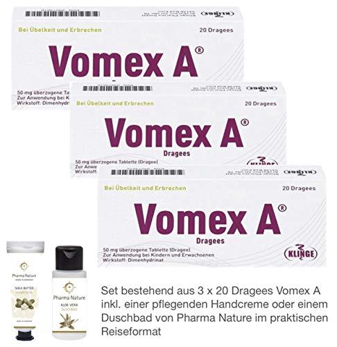 Vomex A Dragees 3 x 20 Stück Sparset inkl. einer...