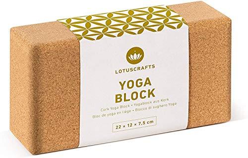 Lotuscrafts Yogablock Kork Supra Grip -...