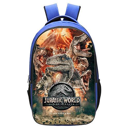 3D Kinder Schulrucksack Jurassic World Dinosaur...