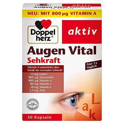 Doppelherz Augen Vital – Mit Vitamin A und Zink...