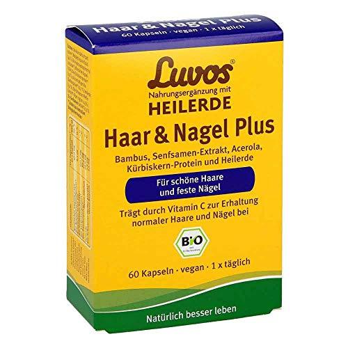 Luvos Heilerde Bio Haar & Nagel Plus Kapseln, 60...