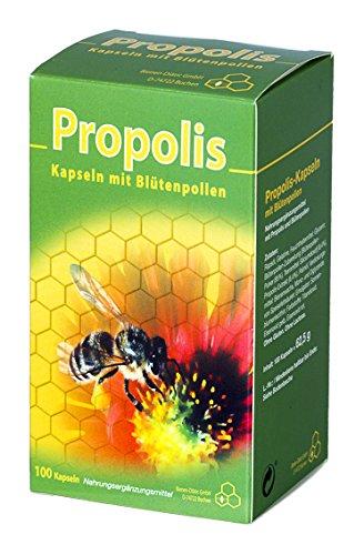 Propolis-Kapseln 100 Stk Mit Blütenpollen |...