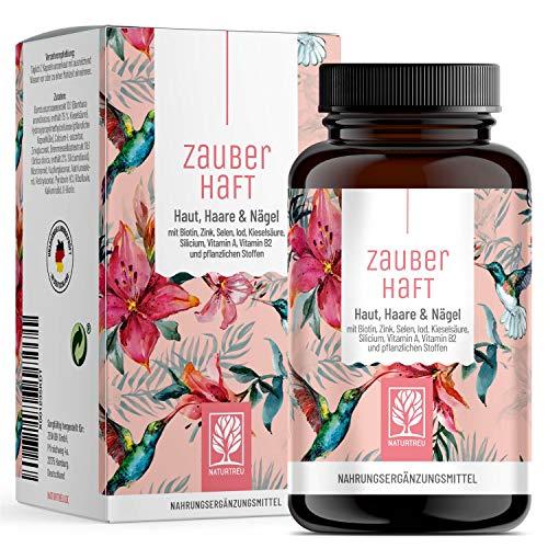 Haar Vitamine - 450mg Silizium hochdosiert &...