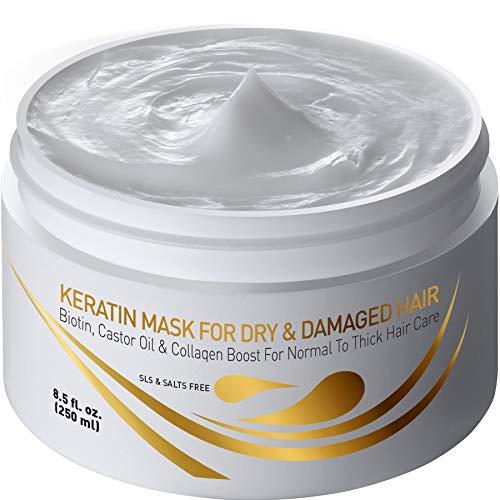 Vitamins Keratin Haarmaske für sehr Trockenes...