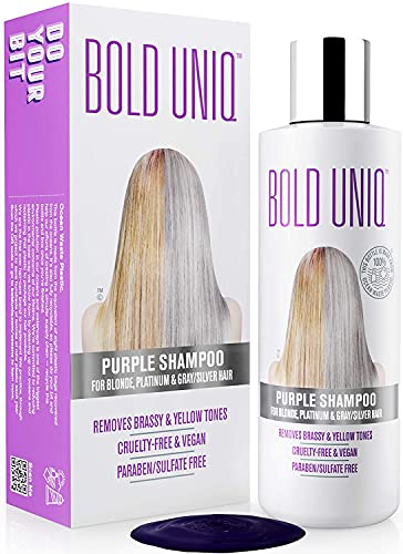 Silber Shampoo - Anti-Gelbstich Purple Shampoo...