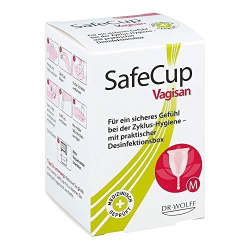 Vagisan SafeCup Gr. M für ein sicheres Gefühl...