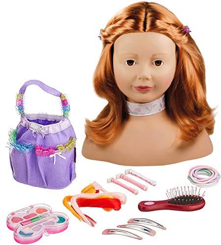 Götz 1192054 Haarwerk mit roten Haaren und...
