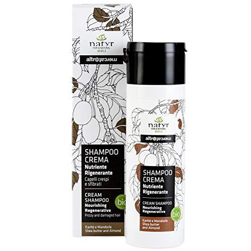 Natyr Bio Locken-Shampoo mit Sheabutter und...