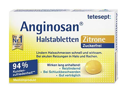 tetesept Anginosan Halstabletten Zitrone -...