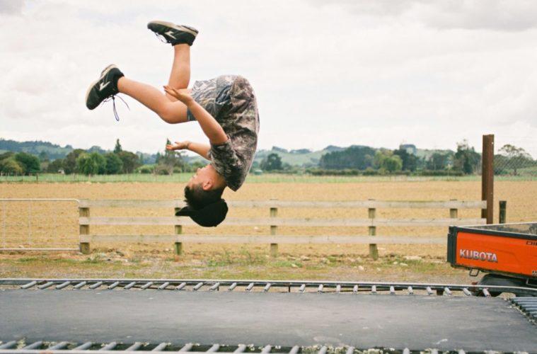fitness trampolin test